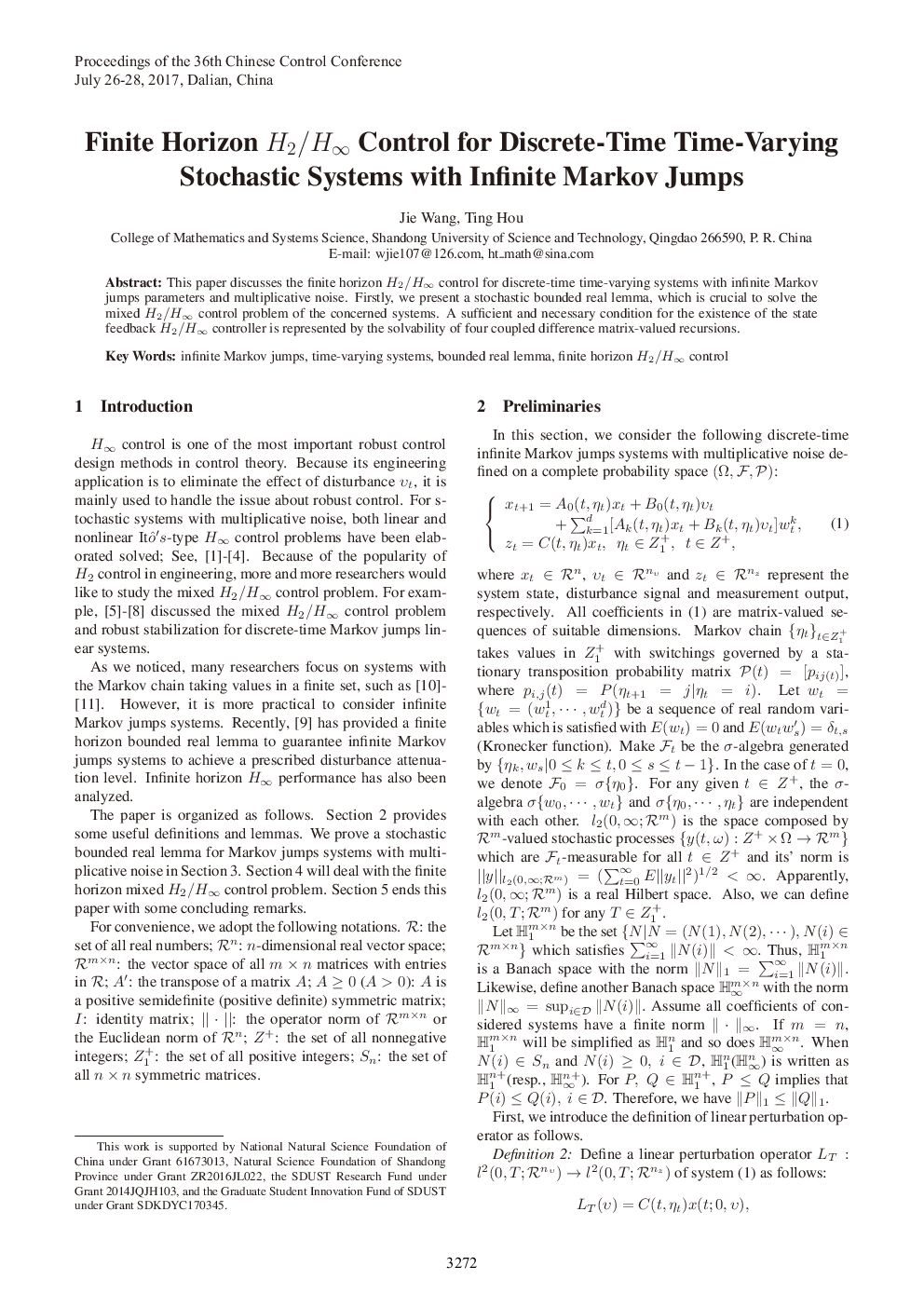 Two-soliton solution to a generalized KP equation with general variable coefficients