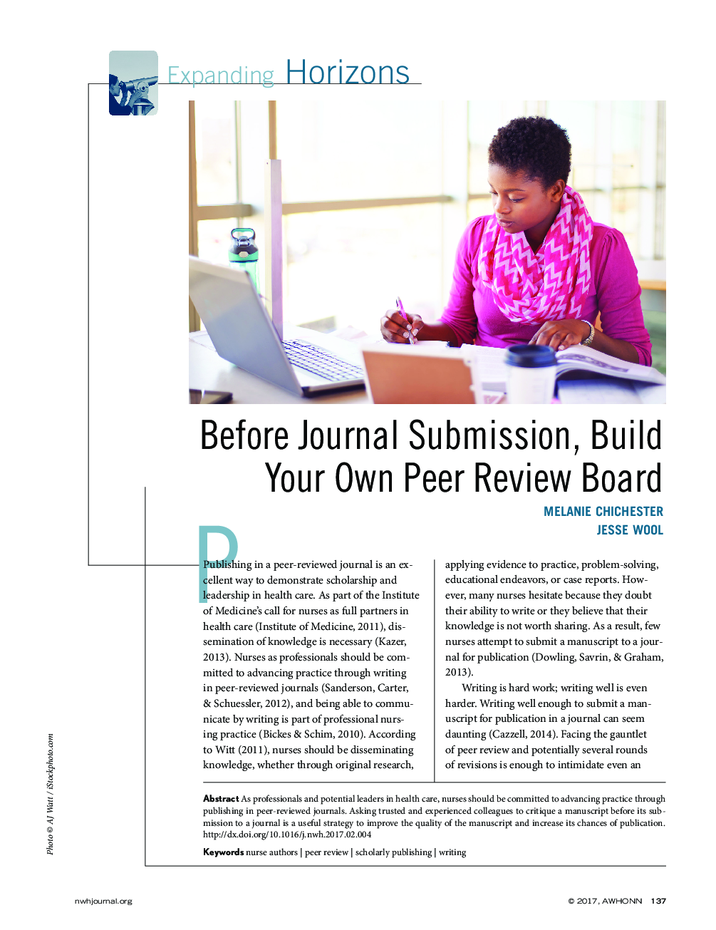 Before Journal Submission, Build Your Own Peer Review Board